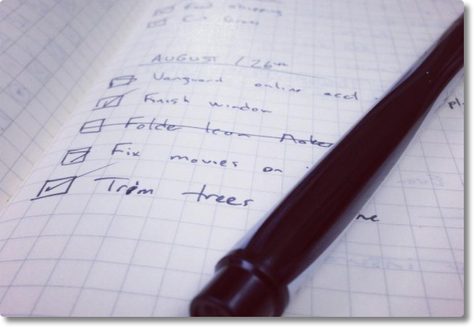 Checklist voor het afronden van je proefschrift